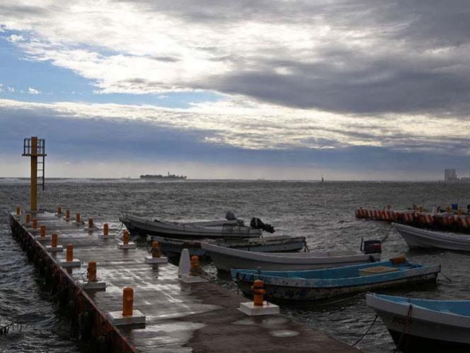 Tormentas fuertes en el Estado de México y Ciudad de México; el frente frío número dos se extenderá desde el noroeste del Golfo de México