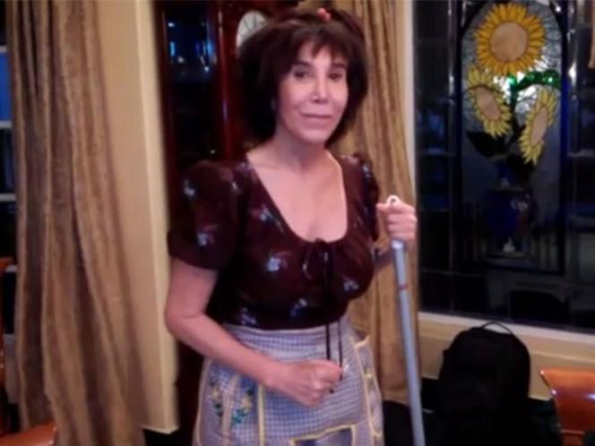 Florinda Meza revive a la Chimoltrufia en Youtube