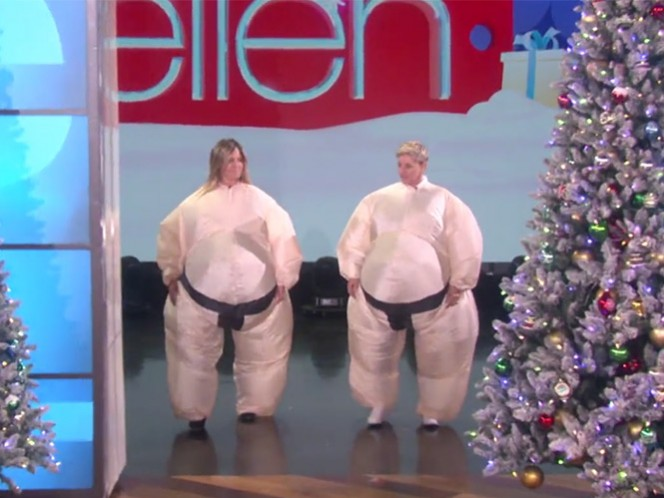 Jennifer Aniston y Ellen DeGeneres se pelean