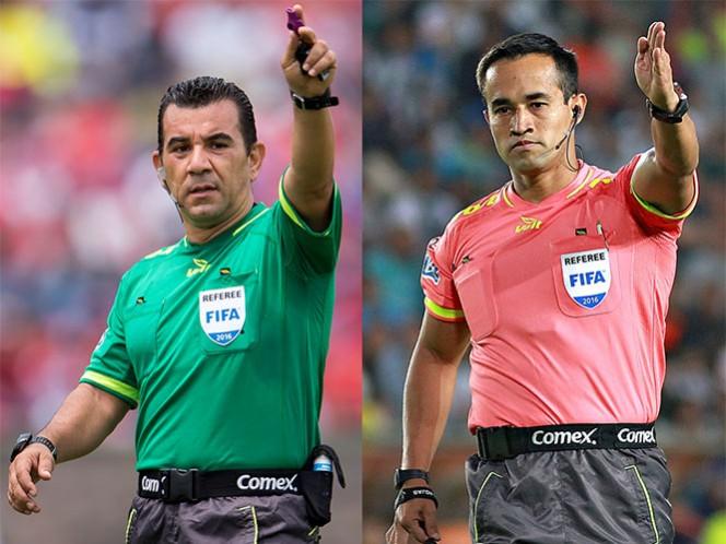 Paul Delgadillo pitará el encuentro en el Estadio Azteca, mientras Jorge Isaac Rojas lo hará en el 'Volcán' (Fotos: Mexsport)