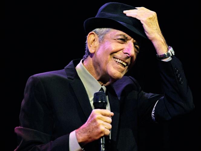 El canadiense Leonard Cohen falleció el 7 de noviembre.