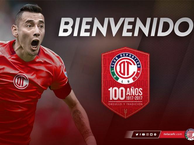 Sambueza jugará en su cuarto equipo en México. (@TolucaFC)