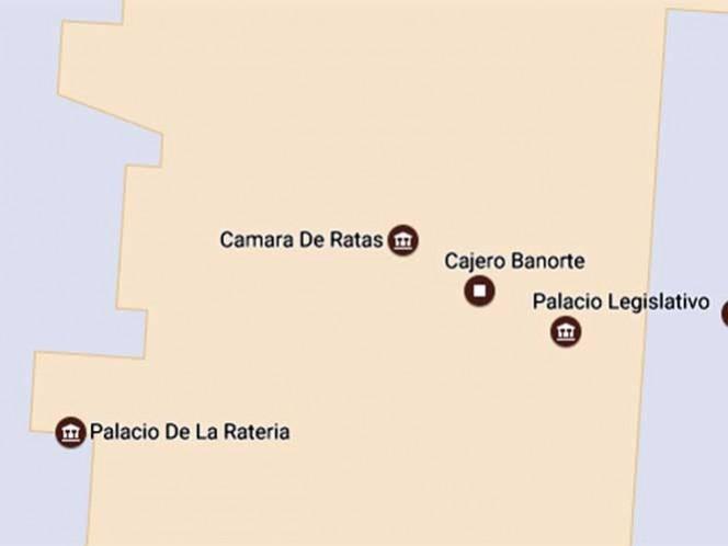 El edificio de diputados está localizado en Congreso de La Unión, colonia El Parque, perímetro de la delegación Venustiano Carranza.
