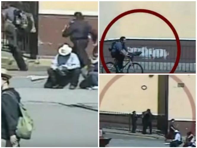 Mujer policía persigue a ladrón de bici en Puebla, lo detiene