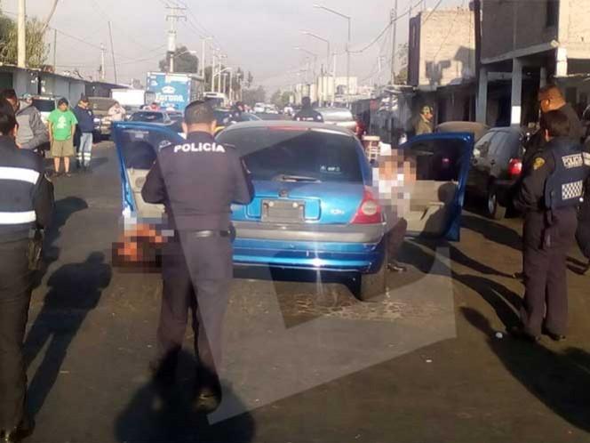 Los presuntos custodios fueron atacados con arma de fuego, por hombres a bordo de una moto. Foto: Rodolfo Dorantes