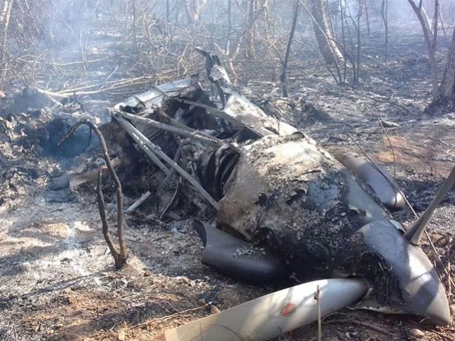 Cae avioneta en Chiapas; hay dos 2 muertos