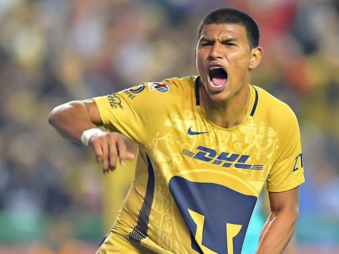Tras un servicio por el costado izquierdo, Jesús Gallardo manda el balón al fondo de las redes (Mexsport)