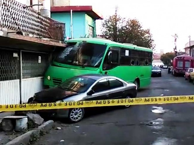 La víctima conducía una unidad de la Ruta 69. Imagen Mirna Andrade