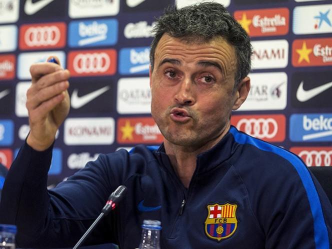 La clave para el Barcelona es ganar en el Calderón, considera Luis Enrique (EFE)