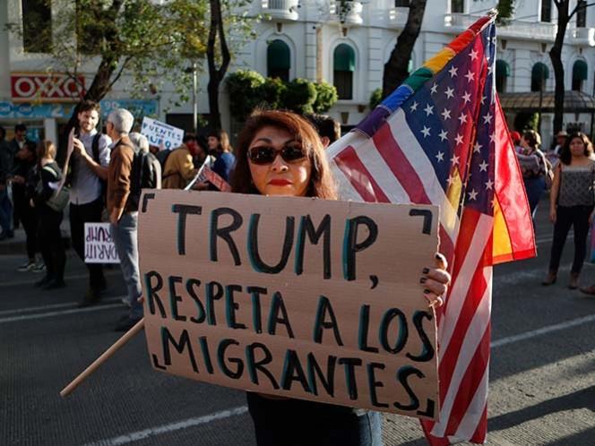 Un juez bloquea parcialmente medida migratoria de Trump