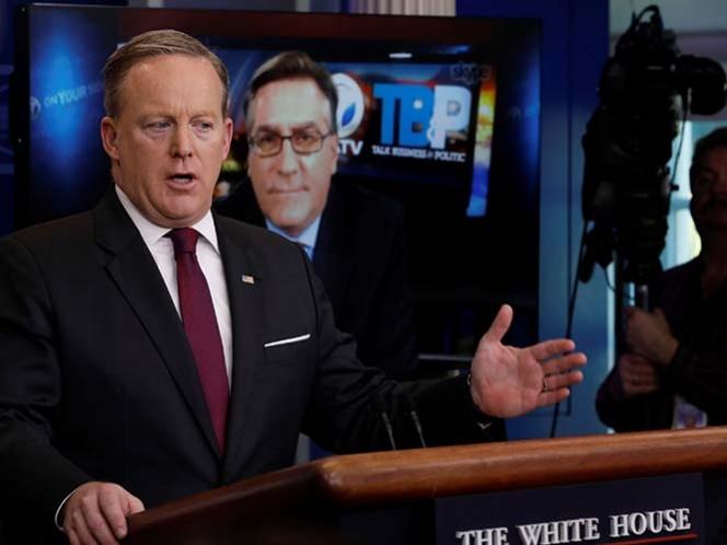 La Casa Blanca bloquea acceso a rueda de prensa