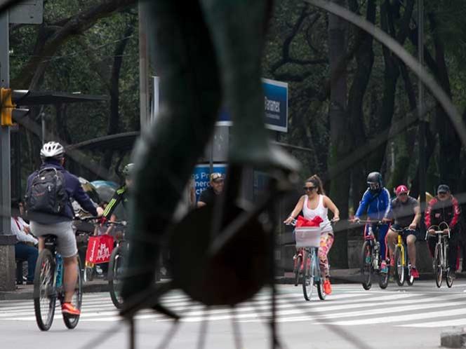 Este domingo disfruta de la CDMX en bicicleta
