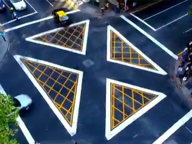 Inauguran en Chile el 'más moderno' paso peatonal