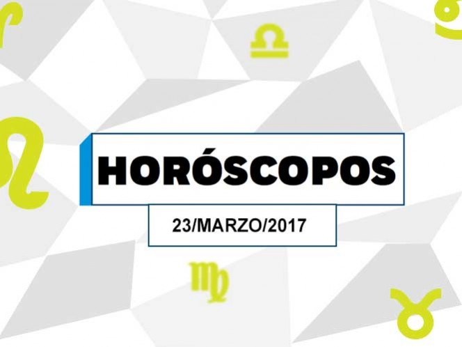 Look at what it says your horoscope for today Thursday, 23 march - Excelsior 1