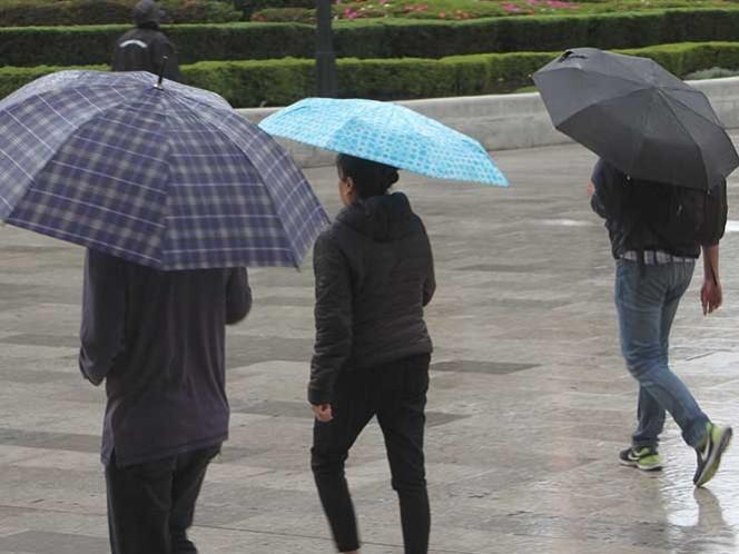 ¡No olvide el paraguas! Pronostican lluvias en casi todo el país