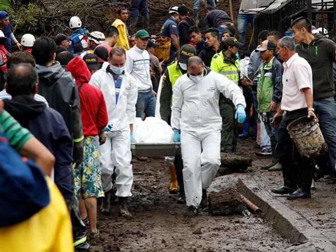 Invierno en Colombia deja 360 muertos y unos cien desaparecidos