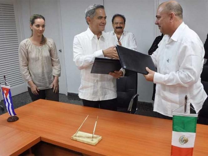 México y Cuba firman convenios sobre salud