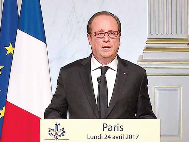 Presidente francés advierte que candidata Le Pen es un riesgo para Francia