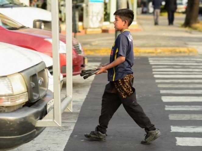 Ya no habrá niños trabajando en calles de CMDX