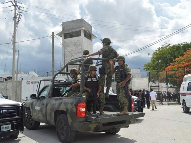 Riña en penal de Cancún deja 3 heridos