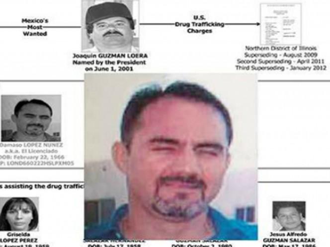 Captura de Dámaso López,