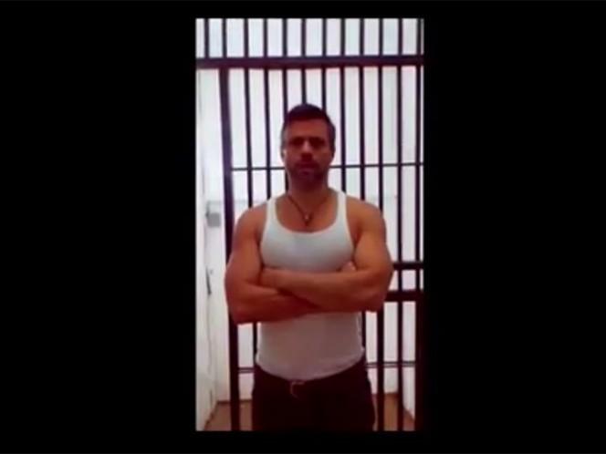Leopoldo López fue trasladado al Hospital Militar de Venezuela en