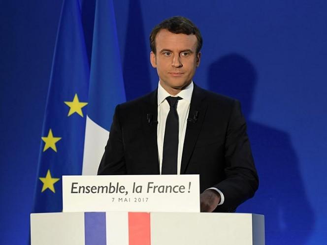 Peña Nieto felicita a Macron por su triunfo en Francia