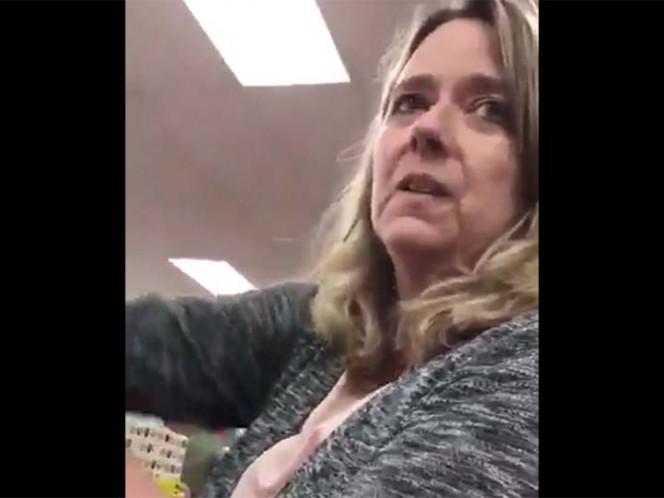 Captan a mujer insultando a una musulmana en Virginia