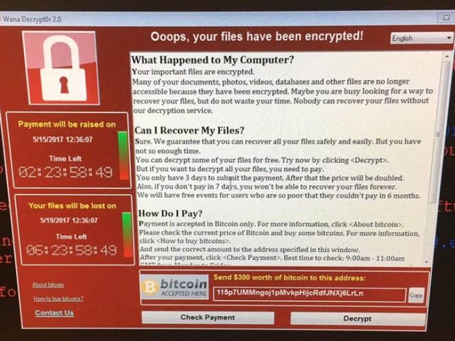 El ciberataque también afectó a equipos informáticos de hospitales en Inglaterra