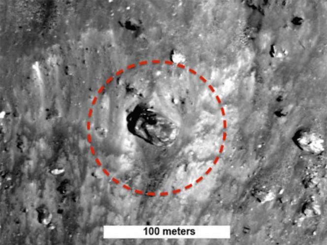 NASA da a conocer posible tanque de guerra en la Luna