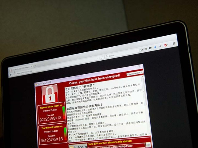 México no registra al momento ataque masivo de virus