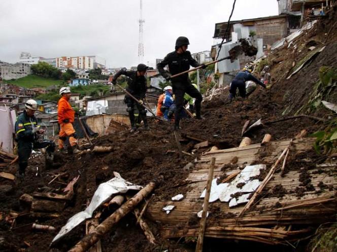 Lluvias en Colombia dejan 389 muertos
