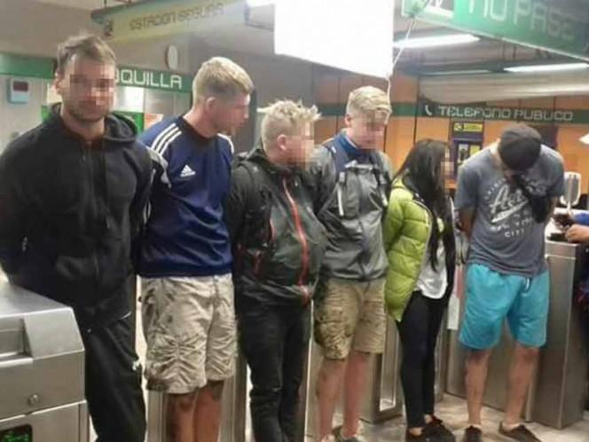 Dan golpiza a sujeto por ofender a conductora del Metro