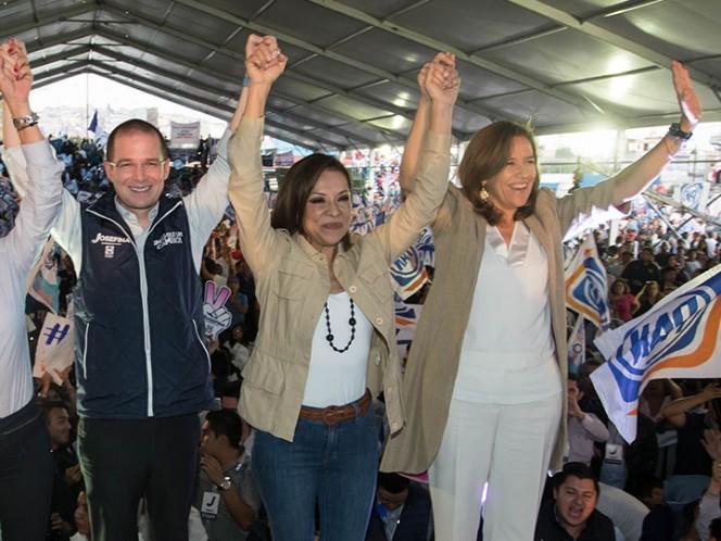 Margarita Zavala presumió que ha acompañado en las campañas a los diversos candidatos para gobernador en Coahuila, Estado de México y Nayarit.