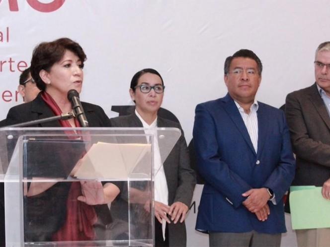 Delfina Gómez presenta equipo de transición en caso de ganar gubernatura