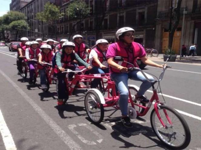 Regresan bicibuses al Centro Histórico de la Ciudad de México