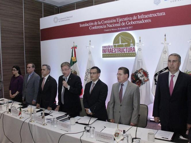 Instalan Comisión de Infraestructura de la Conago