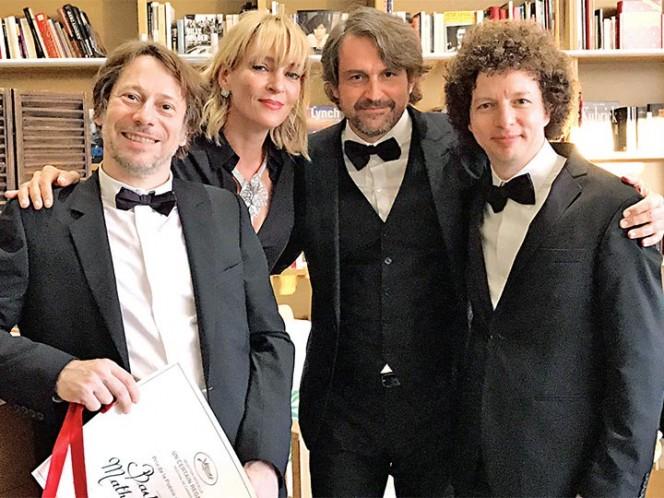 Mexicano vuelve a ganar premio en Cannes