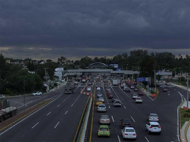 Anuncian cierre de Autopista México Cuernavaca esta noche madrugada