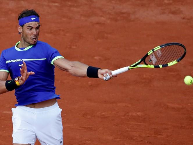 Nadal da una paliza en Roland Garros