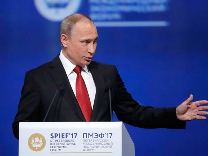 Putin: No juzgaría a Trump por salida del Acuerdo de París