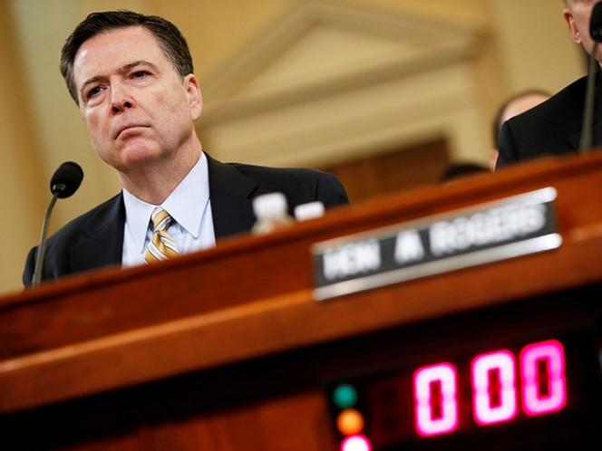 Washington espera audiencia de ex director del FBI