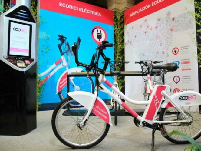 Ecobici contará con préstamo de bicicletas eléctricas