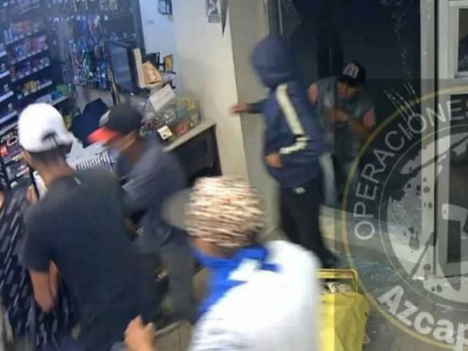 Detienen a 27 personas por saqueos en tiendas de Tultitlán y Acolman