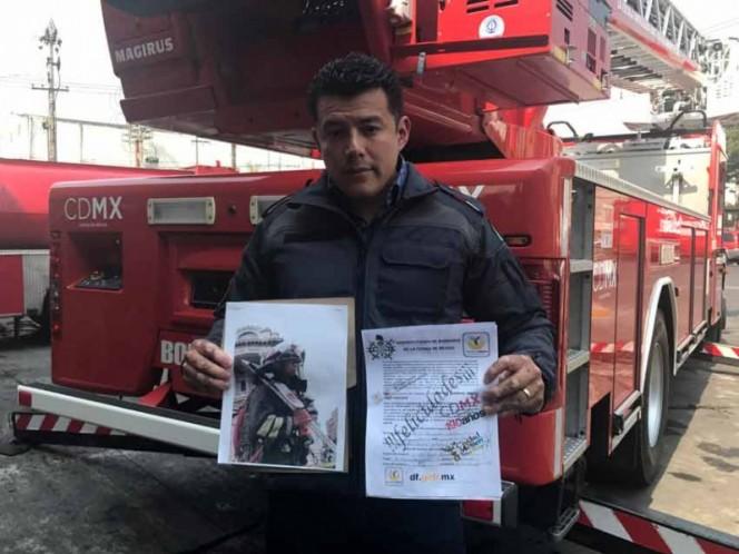 Alertan bomberos de la CDMX por falsa colecta de recursos