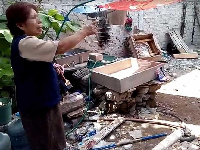 Linchan a presunto delincuente en Puebla; le prendieron fuego