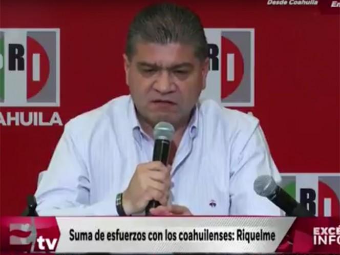 No hay razón para anular elección: PRI; Miguel Riquelme mantiene Coahuila