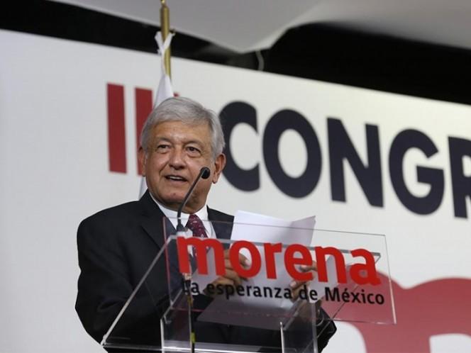 "AMLO niega alianzas de Morena para 2018 — MÉXICO"""