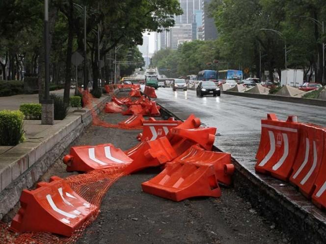 Ordenan suspender la construcción de Línea 7 del Metrobús