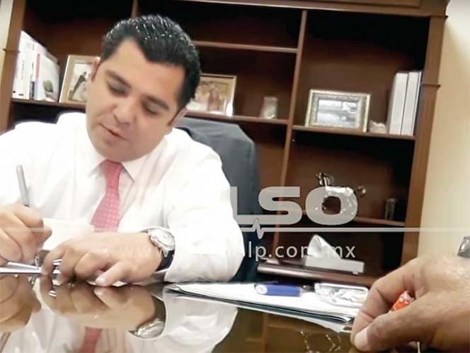PAN pide expulsión de diputado por extorsionar a alcalde en SLP